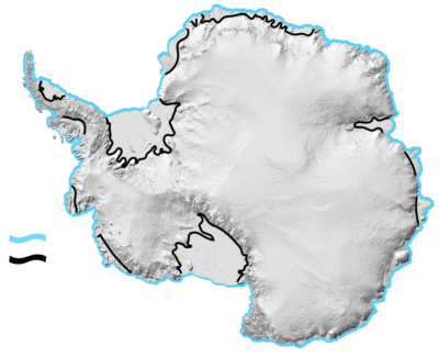 <p>A <strong>Coastal Margin</strong> in <strong>Antarctica</strong> is any nautical or geographical coastline.</p> Example Image