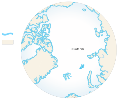 <p>A <strong>Coastal Margin</strong> on the <strong>Arctic Ocean</strong> is any point on land or shore</p> Example Image