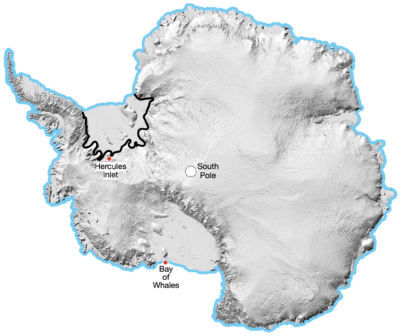 <p>A <strong>Crossing</strong> of <strong>Antarctica</strong></p> Example Image