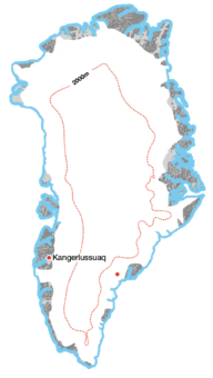 <p>An <strong>Inland Crossing</strong> of <strong>Greenland</strong>:</p> Example Image
